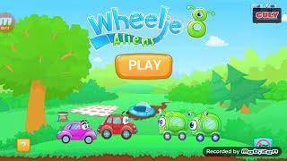 Trò chơi những chiếc xe vui nhộn cu lỳ chơi game Wheelie 8 - Aliens