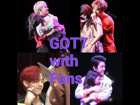 GOT7 with Fans Sweet Moments 💝