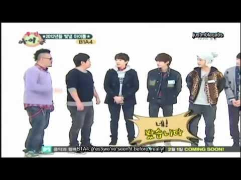 [ENG SUB] B1A4 WEEKLY IDOL (1/3)