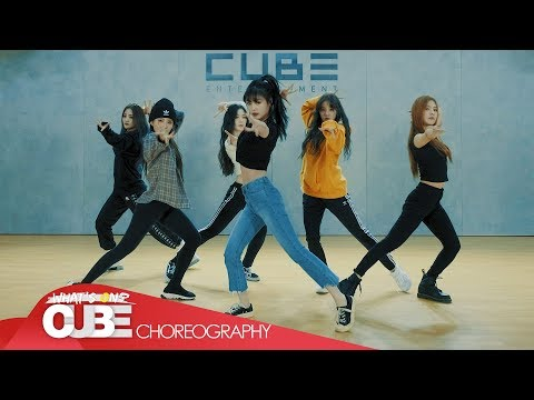 (여자)아이들((G)I-DLE) - 'Senorita' (Choreography Practice Video)