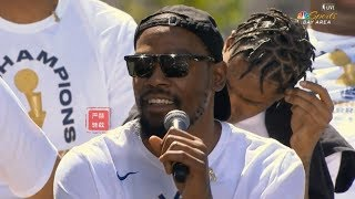 Kevin Durant Gets Emotional After Warriors Fans Beg Him To Stay In This City:WHY NOT!