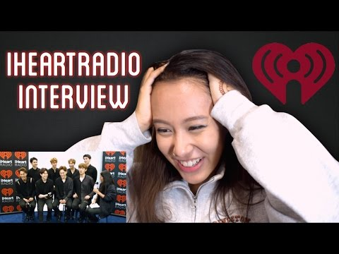 EXO iHeartRadio Interview Reaction