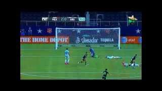 Partido Amistoso México vs Argentina (2-2) Todos los goles (TV Azteca) 2015
