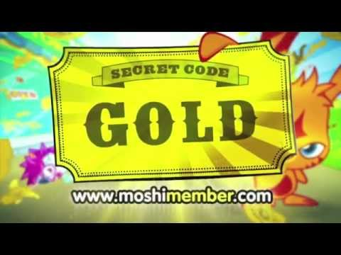 Moshi Monsters Golden Ticket .mov