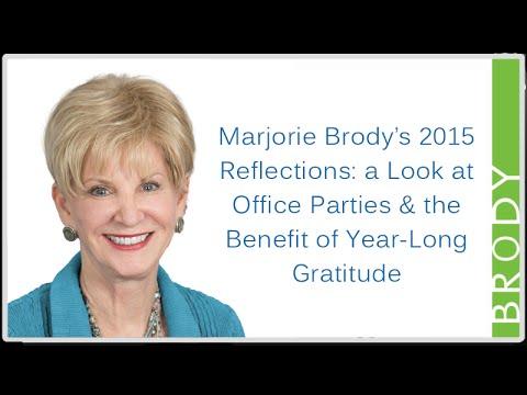 Marjorie Brody on Gratitude