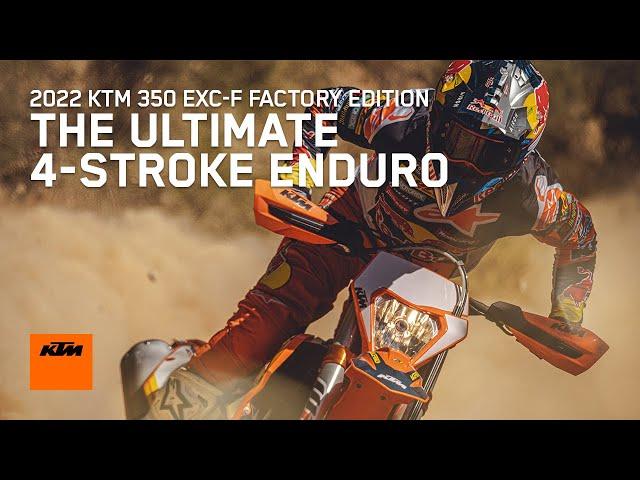 Présentation  KTM 350 EXC-F FACTORY EDITION 2022