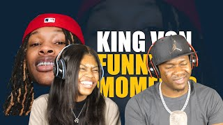 King Von Funny Moments (BEST COMPILATION) REACTION