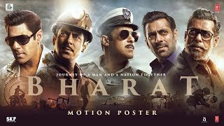 Bharat Official Motion Poster- Salman Khan..
