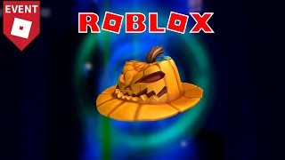 Roblox   How to get the Pumpkin Fedora (Halloween Event 2018)
