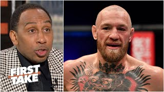 Stephen A. & Max react to Conor McGregor's KO loss at UFC 257 | First Take