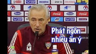 HLV UAE: Việt Nam là đội tuyển mạnh nhất bảng G | Thể Thao 247