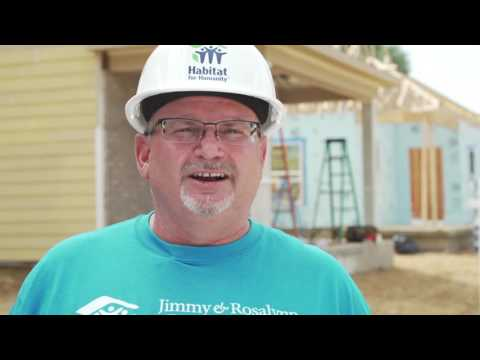 Video: Mark Rodgers, President and CEO of Habitat for Humanity Canada, calls on all Canadians to  create a movement for affordable homeownership as the 34th Jimmy & Rosalynn Carter Work Project helps build 150 homes to mark Canada's 150th anniversary.