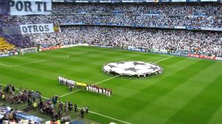 Real Madrid Barcelona UEFA Champions League anthem