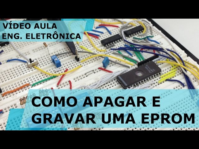 GRAVADOR MANUAL DE EPROM | Vídeo Aula #162