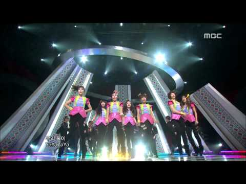 T-ARA : Yayaya - 티아라, 야야야, 쇼! 음악중심, 2010/12/11 - MBC