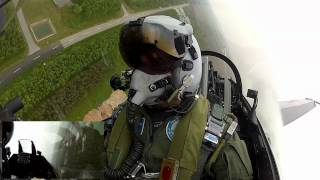 Danish Air Force F-16 Demo-Flight