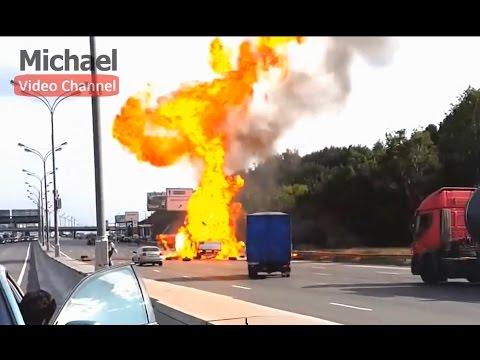 WOW - Amazing! Cars Crash Explosions - WTF