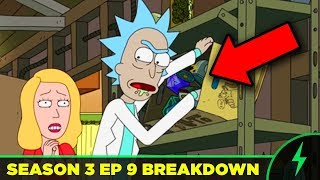 Rick and Morty BREAKDOWN - 3x09
