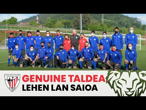 Genuine team returns to Lezama | AC Fundazioa ❤️