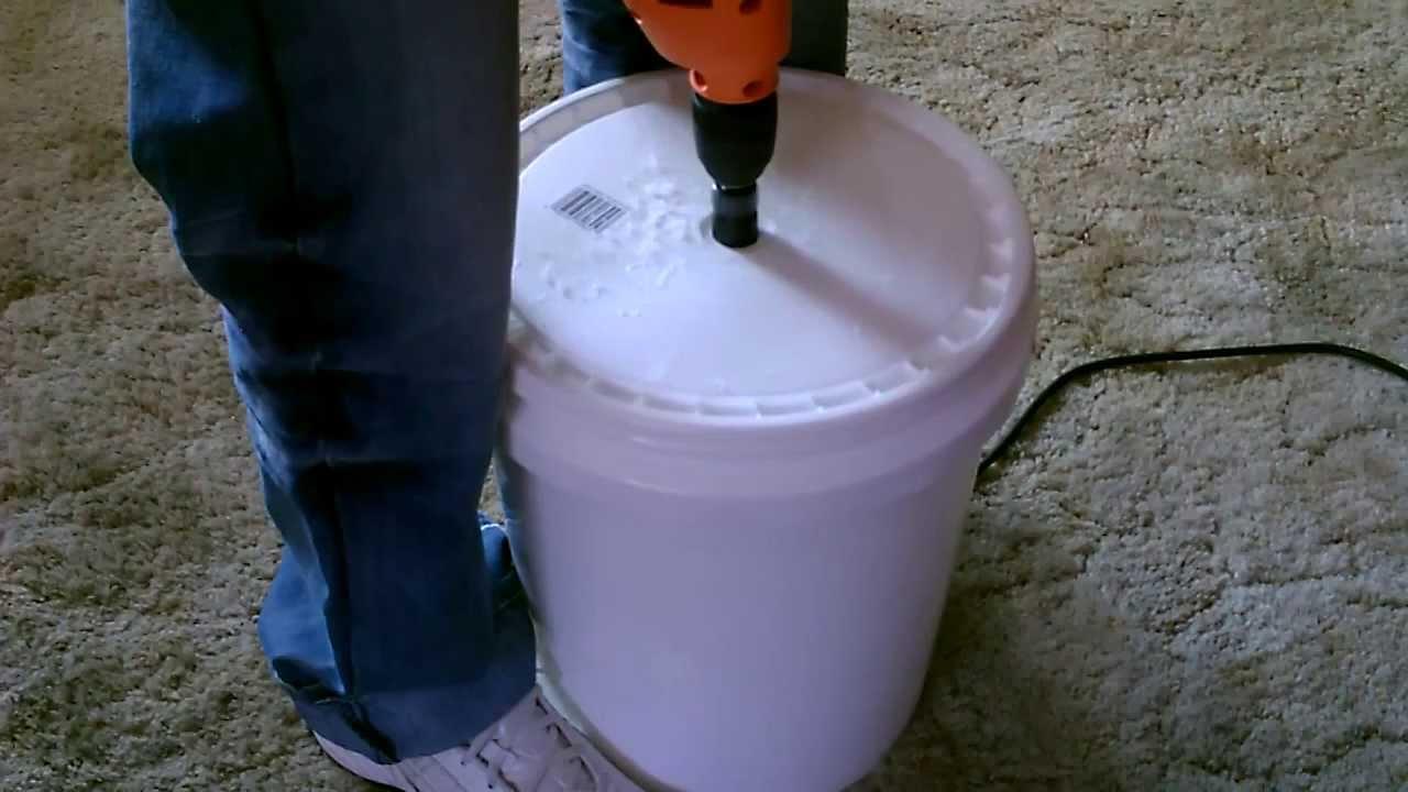 Human Powered Quot Washing Machine Quot Diy The Quot 5 Gallon Bucket