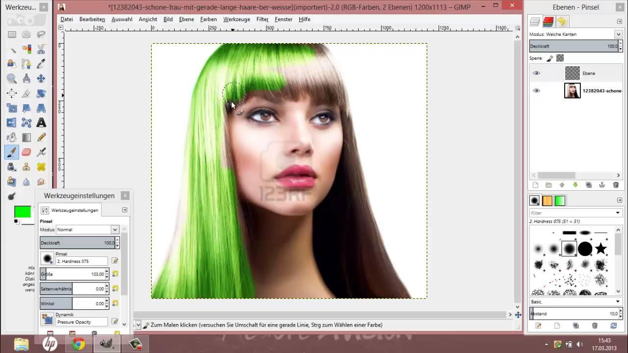 Per App neue Haarfarben ausprobieren - Schwarzkopf