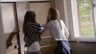 Eun Bi and Eun Byul VS Kang So Young - You're Going Down!