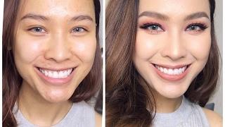 Makeup with Acne Skin  - Trang Điểm Kiểu Mắt Sâu Và Cách Xử Lý Da Mụn