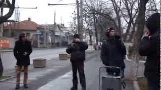 Protest civico-ecologic-secular la ambasada României în RM