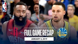 Full Game Recap: Rockets vs Warriors | Overtime Thriller In Oracle