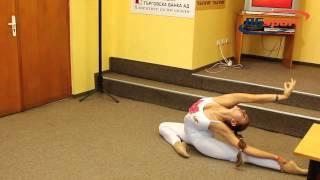 Тania Cekova world champ sport yoga