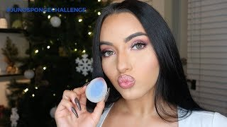 FULL FACE CHALLENGE USING ONLY JUNO MAKEUP SPONGE!!? 💕