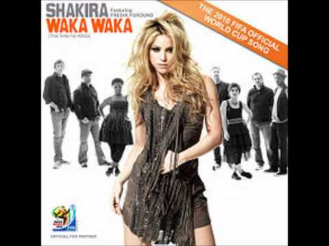 Shakira - Waka Waka (This Time for Africa) (Audio)
