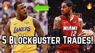 5 Blockbuster Trades That Would SHOCK the NBA! | Dion Waiters Trade to Los Angeles Lakers!