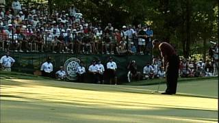 Tiger Woods and Bob May duel at 2000 PGA Championship