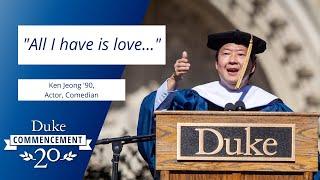 Ken Jeong | Duke Commencement 2020 Address video