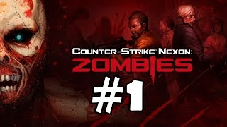Counter Strike Nexon Zombies Walkthrough Part 1 Gameplay Let's Play Playthrough 1080p Review