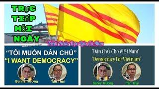 Benny Truong Trực Tiếp - Tổ Quốc  Danh Dự và Trách Nhiệm! - Sáng Việt Nam 01/10/2020 Benny Trương
