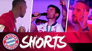 Running Man & der tanzende Müller - FC Bayern Shorts | Double Edition