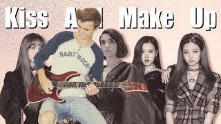 Dua Lipa & BLACKPINK - Kiss and Make Up - Electric Rock Guitar Cover