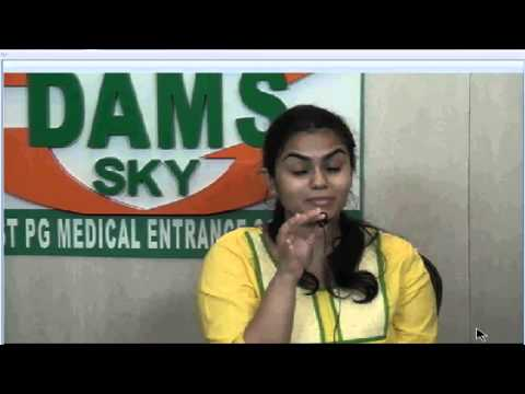 DAMS Student Dr M S Nitiya rank 43 AIPG - 2013 - 2014