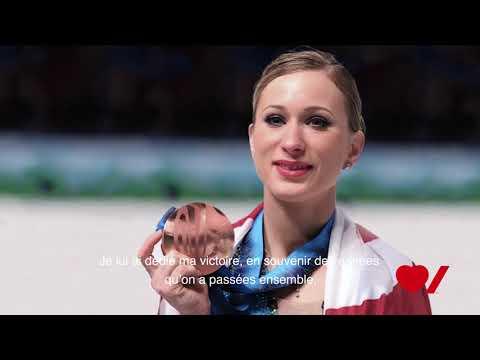 Vidéo : Faites équipe avec Joannie Rochette, présidente d'honneur de Coeur + AVC Démarchage