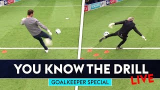 Asmir Begovic v Jimmy Bullard v Lloyd Griffith   You Know The Drill LIVE   Goalkeeper Special