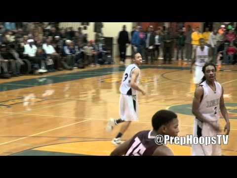 Kyle Davis 2013 Chicago Hyde Park with a steal and dunk