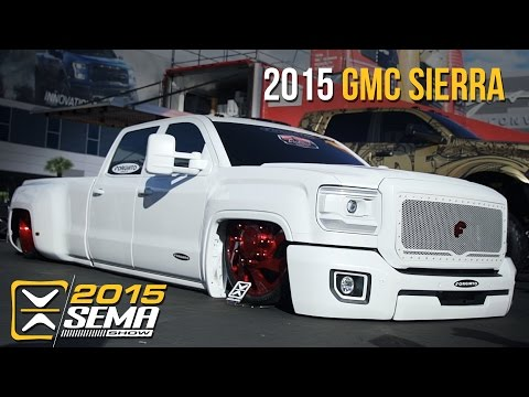 SEMA 2015 | 2015 GMC Sierra Denali | Rev Limit Customs
