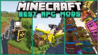 TOP 50+ Mods that Turn Minecraft into the Ultimate RPG! - Fabric Edition