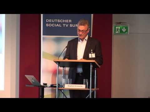Rede: Begrüßung durch BLM-Präsident Siegfried Schneider