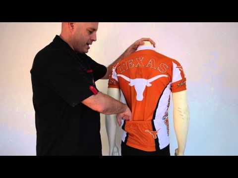 University of Texas Longhorns Cycling Jersey
