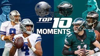 Cowboys vs. Eagles: Top 10 Moments in the NFC East Rivalry   NFL Highlights