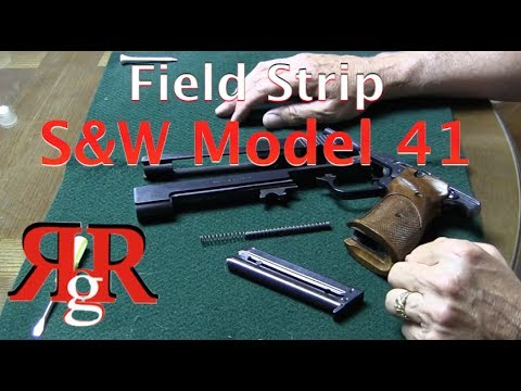 Smith & Wesson Model 41 Field Strip