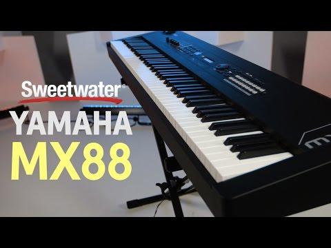Yamaha MX88 Synthesizer Demo
